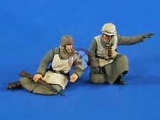 Verlinden 1/35 German Infantry Winter Outfit Eastern Front WWII (2 Figures) 2612