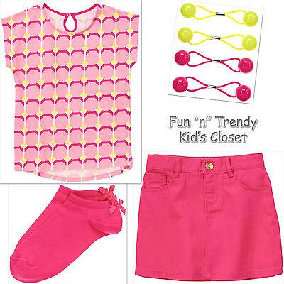Gymboree Bright Ideas Girls Size 5 Yellow Skirt NWT NEW