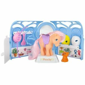 MLP-Retro-Pretty-Parlor-Playset-w-Peachy-exclusive-Pony