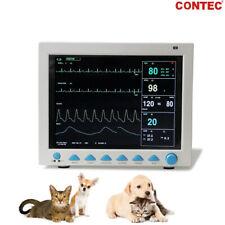 Veterinary Patient Monitor Cms8000 Vet Vital Signs 6 Parameter Machine Dog Cat