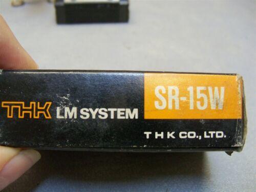 SR-15W Radial Linear Motion LM guide Block SR15W1SS THK SR series