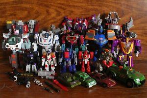 Transformers CHUG Animated Titans Return Lot of 18 figures