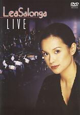DVD Lea Salonga Live (2000) On Stage Concert in Manila
