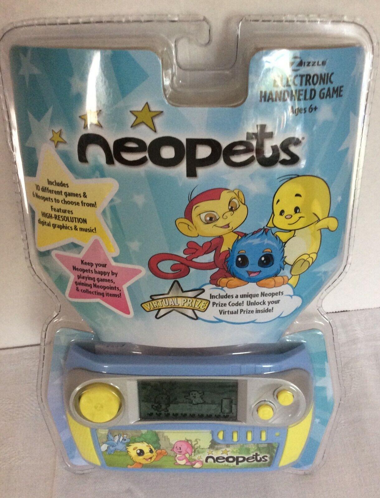 para mayoristas Nuevo Raro 2008 juego portátil electrónico Neopets virtual premio premio premio código Zizzle  venderse como panqueques