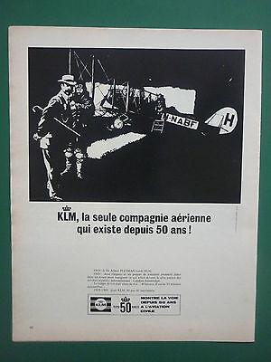 10//81 PUB KLM DUTCH AIRLINE HOLLAND GOLFE MASCATE OMAN DUBAI ABU DHABI FRENCH AD