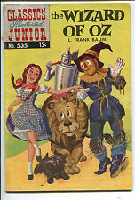 Classics Illustrated Junior #535 - Wizard of Oz - 1957 (Grade 4.5)