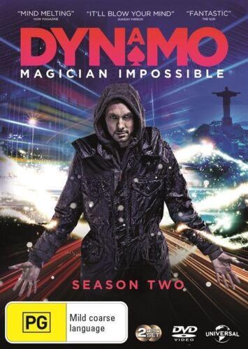 1 of 1 - Dynamo - Magician Impossible : SEASON 2...REG 4...NEW & SEALED   DVD45