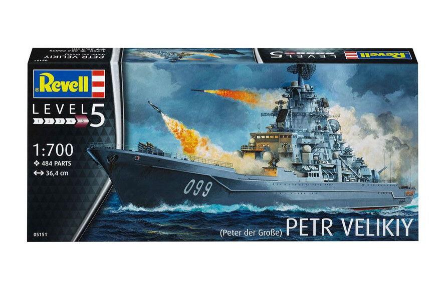 New Revell 05151 1 700 Petr Velikiy Model Kit