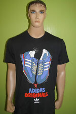 adidas T-shirt Gr.L Originals SL 72 schwarz Schuhe SL72