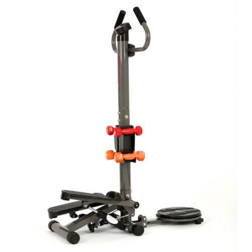 Twistboard u Stepper inSPORTline EasyStep Pro inkl Hantelset 3in1 Trainer Neu