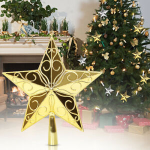 Christmas-Tree-Star-Topper-Ornament-Party-Decoration-Xmas-Home-P-Q