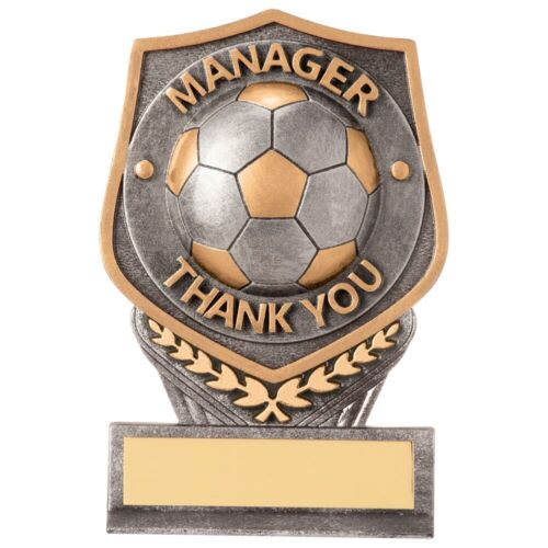 Football Trophies Falcon Manager Thank You Trophy 5 sizes FREE Engraving