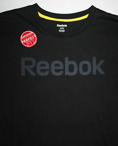 64d2e732c45 Image is loading REEBOK-SPORT-T-Shirt-Black-NEW-WITH-TAGS