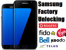 Rogers/Fido/Bell/Virgin/Telus/Koodo Samsung Unlock Codes - Galaxy S7,S6,Edge,S5