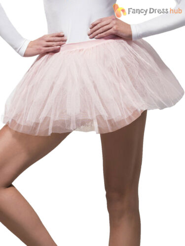 Ladies Tutu Fancy Dress Adult Underskirt Accessory Hen Party 80s Neon Skirt 1980
