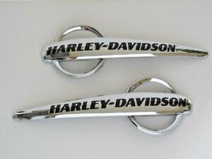 Harley-Davidson-Tankschilder-Tankembleme-Tank-Embleme-14100892-amp-14100893