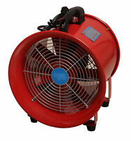 Extractor Fan Portable Ventilator Industrial Air Axial Metal Blower Workshop 16