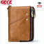 Men-Genuine-Leather-Cowhide-Wallet-Bifold-RFID-Credit-Card-Holder-Zipper-Purse thumbnail 14