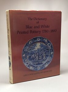 Book The Dictionary of Blue and White Printed Pottery 17801880 Delft Porcelain - <span itemprop=availableAtOrFrom>Tunbridge Wells, Kent, United Kingdom</span> - Book The Dictionary of Blue and White Printed Pottery 17801880 Delft Porcelain - Tunbridge Wells, Kent, United Kingdom