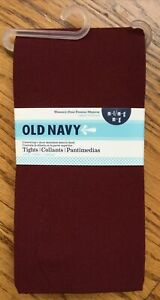 Tights S//M M//L Old Navy Womens Navy NWT