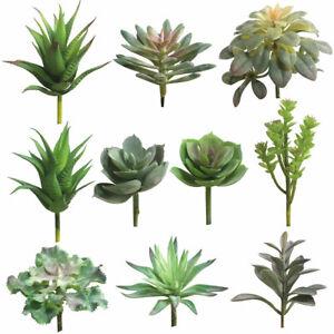 Am-FT-1Pc-Artificial-Succulent-Plant-Flower-Arrangement-DIY-Bonsai-Home-Cafe-D
