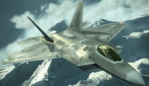 Details about F-22A Raptor Ace Combat 5 F22 Aircraft Mahogany Kiln Dry Wood  Model Small New