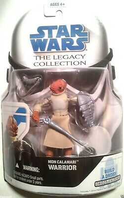 Star Wars 2008 Legacy Collection Mon Calamari Warrior Action Figure Loose # BD14