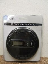 ONN PORTABLE CD PLAYER WITH FM RADIO MODEL# ONB15AV201