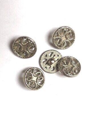5 Pezzi Trachten Bottoni Metallo Ca. 17 Mm #k8- Negozio Online