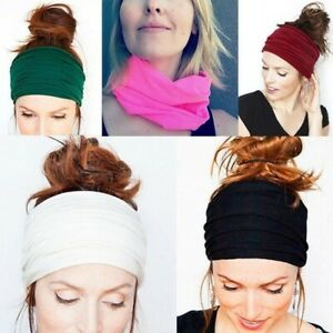 Double-Side-Wide-Sports-Yoga-Gym-Cotton-Headband-Head-Hair-Band-Girls-Women-Men