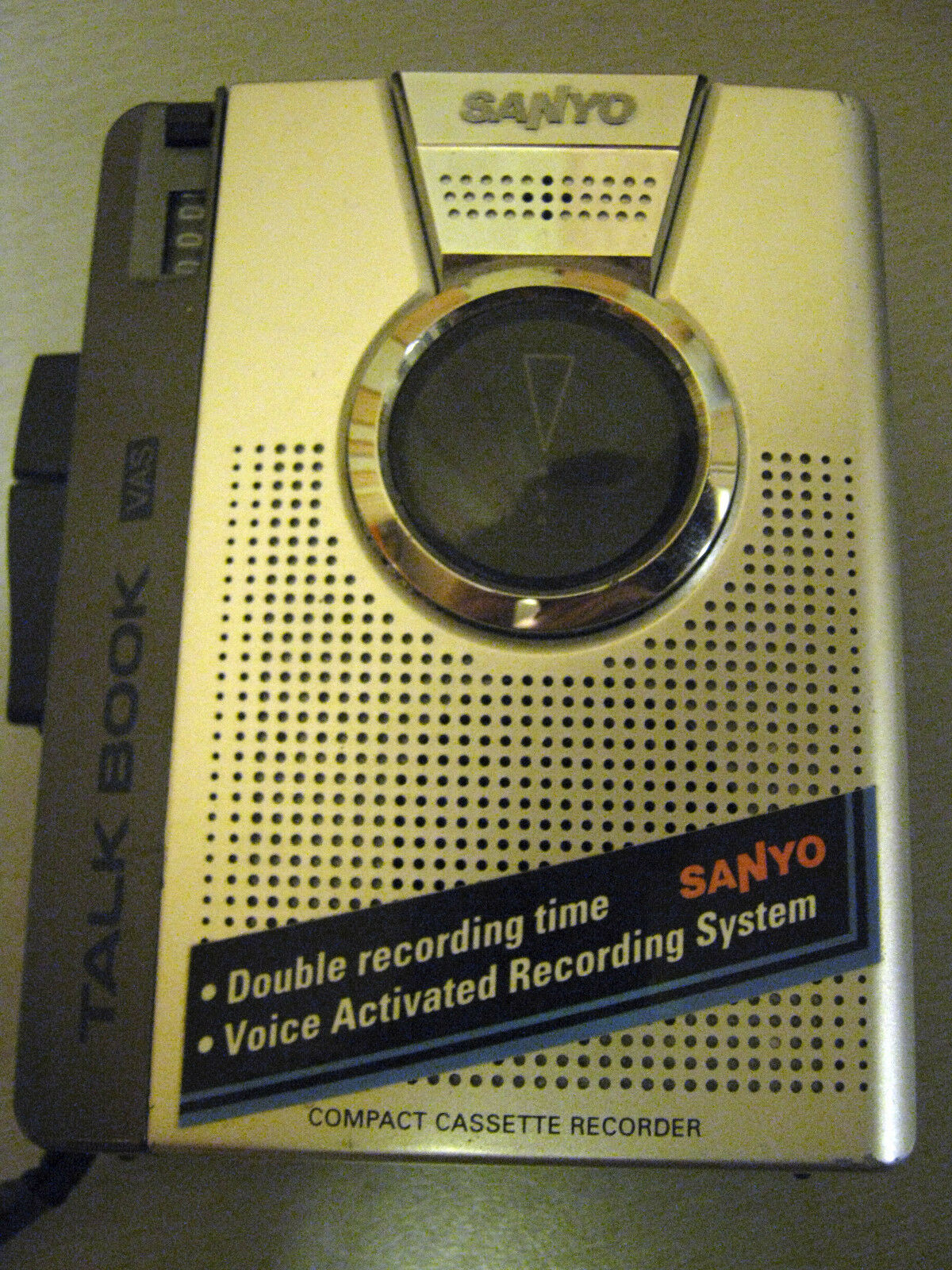 Used Working SANYO TALK BOOK TRC-1149 Voice Cassette Recorder Dictaphone