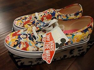 Vans-x-Disney-Multi-Princess-Cinderella-Print-World-Dress-Womens-Shoes-Kith-RARE