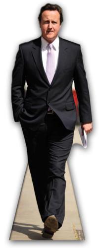 David Cameron Britisch Premierminister lebensechte Größe Ausschnitt - Normal | Neuheit Spielzeug  | Kaufen