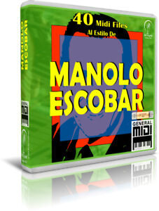 MANOLO-ESCOBAR-40-Midi-Files-MIDIS-Pendrive-USB-OTG-Teclados-PC-Movil