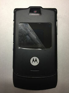 Motorola-RAZR-V3i-Basic-Flip-2G-GSM-Black-Cellular-Phone-T-Mobile-MetroPCS