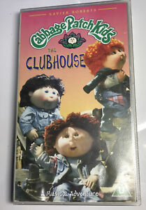 CABBAGE PATCH KIDS THE CLUBHOUSE VHS