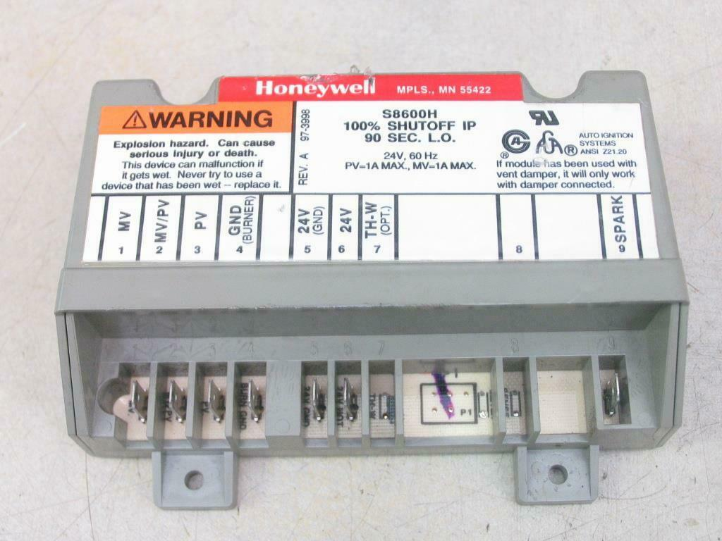 Replacement for Honeywell Furnace Integrated Pilot Module Ignition Control Circuit Board S8600H