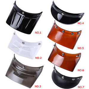 3-5-Snap-Visor-Duckbill-Peak-Sunshield-for-Motorcycle-Motocross-Full-Jet-Helmets