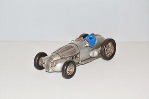 Modellauto-Silberpfeil-Nostalgie-Blechmodell-Metall-29-cm-Neu-Ko