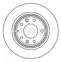 b beck brake disc pair bbd4335 brand new genuine 5 year Mazda X5 image is loading b beck brake disc pair bbd4335 brand