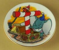 Disney's Alphabet Miniature Plate T is for TIMOTHY MOUSE from DUMBO Disney Mini