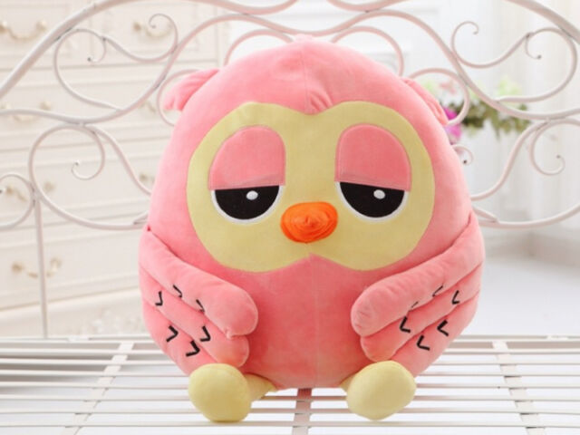 50cm Big Plush Owl Cute Giant Large Stuffed Soft Plush Toy Doll