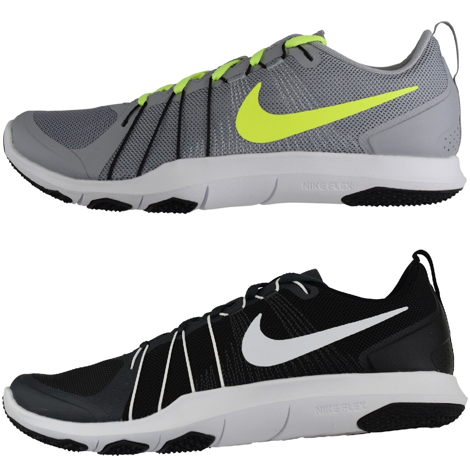 NIKE FLEX TRAIN AVER Running Shoe  Trainers Textile