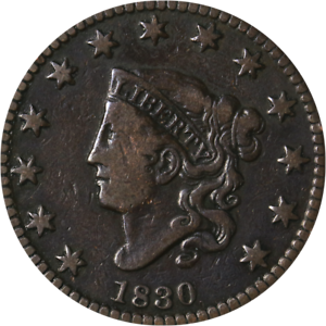 1830 Large Cent Great Deals From The Executive Coin Company