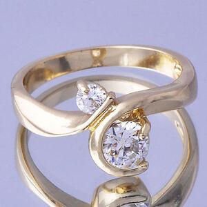 Mens womens wedding engagement rings 24k yellow gold for 24k gold wedding ring