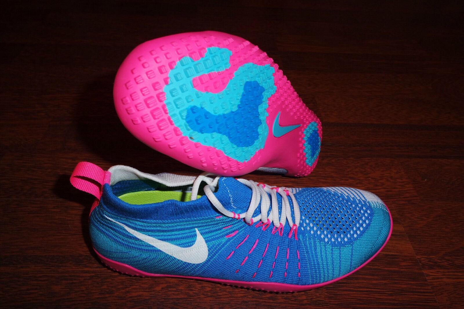 Nike Femme Hyperfeel Cross Elite 638348 400 Bleu/Rose/Blanc SZ 8 SZ 9.5
