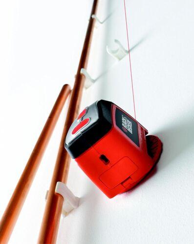 Black /& Decker Laser Level Straight Line Horizontal Vertical 360° Battery