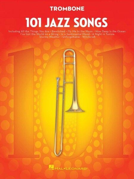 101 Jazz Songs for Trombone Instrumental Solo Book 000146370