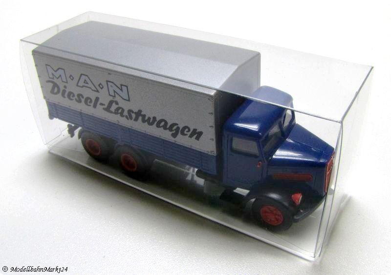 50 x embalaje en blancoo lucidez-Hunter Transporter pequeñas camiones 1 87 30x40x96 mm nuevo