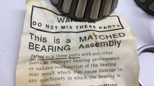 Timken 3880-90040 Tapered Bearing Matched Set 3880 3820 X1S-3880 X4S-3880